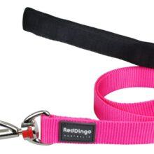 Red Dingo Hondenlijn effen hot pink bij AnimalWebshop.com