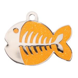 Fish oranje Bowwow meow kattenpenningen Animalwebshop