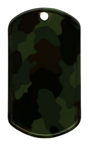 RVS geverfd – Camouflage (R)