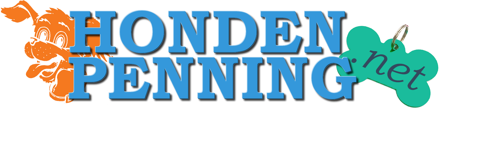 Logo Hondenpenning.net transparantie achtergrond voor factuur 2