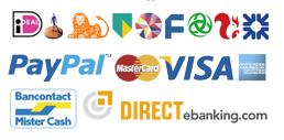 Betalingsmogelijkheden bij Hondenpenning.net door Sisow