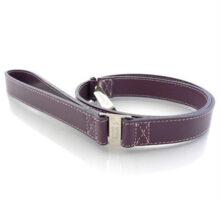 Hondenlijn Purple leather Hondenpenning.net HETDIER.nl Animalwebshop