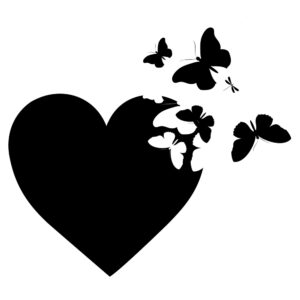 Hart en Vlinders